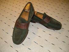 "Cole Haan Suede and Leather Penny Loafers  10 M  ""Excellent"""