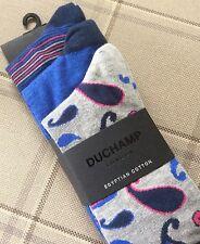 BNWT TRE PAIA Duchamp London Calzini Di Cotone Egiziano Taglia 7-11