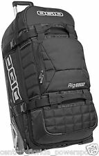 Ogio 9800 Wheeled Rig Rolling Luggage Bag - Stealth Black MX Moto
