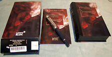MONTBLANC  CHARLES DICKENS GOLD & STERLING  LIMITED EDITION C 2001 /BOXES/BOOKLE