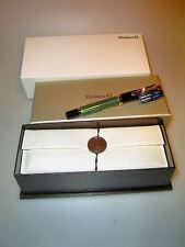 PELIKAN M800 Füllhalter, grün gestreift, Box