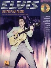 Guitar Play-Along Elvis Presley Learn to Play Rock & Roll TAB Music Book