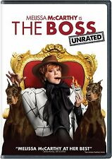 The Boss (Unrated) Melissa McCarthy, Kristen Bell (NR-DVD) [TRAILER INSIDE] NEW