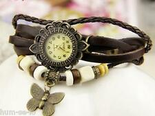 VINTAGE  BRACELET  LADIES  WRIST WATCH -  BROWN