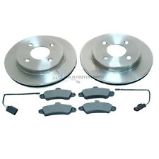 FORD MONDEO ST24 2.5 V6 1993-2000 REAR 2 BRAKE DISCS AND PADS SET NEW