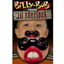 BILLY BOB LITTLE SHERLOCK CHILDRENS PACIFIER  baby pacifer teether TODDLER CHILD