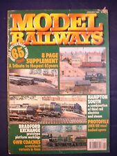 Model Railways - January 1990 - GWR Coaches