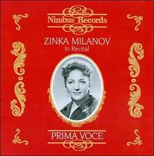 Zinka Milanov in Recital: Prima Voce, New Music