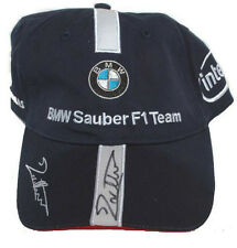 Jacques Villeneuve Signed official 2006 BMW Sauber F1 JV Cap