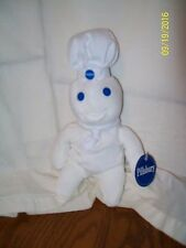 "Pillsbury Dough Boy 1997 9"" Bean Bag Plush Doll With Tag"