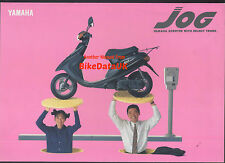 Yamaha YG50 Jog (1991) Japanese Market Sales Brochure YG 50 Scooter/Moped
