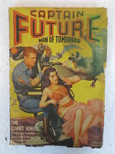 CAPTAIN FUTURE Wizard of Science Summer 1942  Vol. 4, No. 2 Sci-Fi