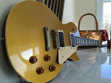 1957 Gibson Les Paul GOLD TOP Light Weight Eddie Vegas Build 1992 Conversion