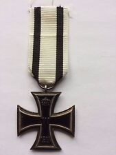 MEDAL INSIGNIA GERMAN WW1 IRON CROSS 2ND CLASS - WITH NON COMBATANTS RIBBON