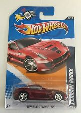 HOT WHEELS SUPER TREASURE T HUNT FERRARI 599XX ALL STARS 125 / 247 RUBBER TIRES