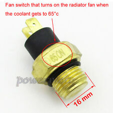 M16 Radiator Thermal Fan Switch Thermostat For 250cc Water Cooled ATV Scooter