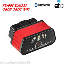 KW903 ELM327 Bluetooth WiFi OBD2 OBDII Car Auto Fault Diagnostic Scanner Tool