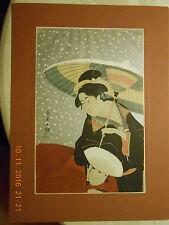 OKUBI-E, 13 Japanische Farbholzschnitte. Einführung von Rose Hempel