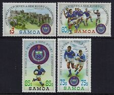 1993 SAMOA RUGBY SEVENS WORLD CUP SET OF 4 FINE MINT MNH/MUH