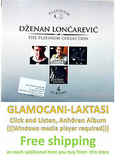 4CD DZENAN LONCAREVIC - THE PLATINUM COLLECTION 2013 serbia  city records