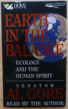 Earth In The Balance by Al Gore (Audiobook Cassette 1992)