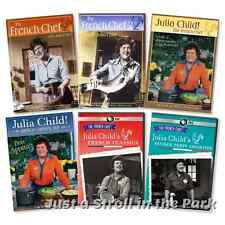 The French Chef with Julia Child TV Series Complete Classics Box/DVD Set(s) NEW!