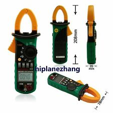 Ture RMS INRUSH Clamp Meter 6600 AC DC Current Volt. Ohm Cap. Frequency MS2108S