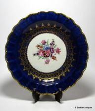 Worcester Wet Blue Floral Porcelain Plate 1792