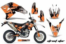 AMR Racing Yamaha Graphic Kit Bike Decal WR250 R/X Decal MX Parts 07-15 STREET O