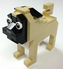 Lego Pug Dog Parts & Instructions Lego Club Mini Model Build