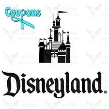 DISNEYLAND 2,3,4,5 DAY PARK HOPPER+MAGIC MORNING TICKET DISCOUNT PROMO