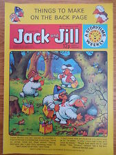 JACK & JILL COMIC 31 March 1979 Birthday Gift The Wombles Tiger Tim VINTAGE