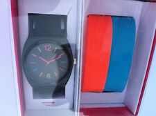 Watch with 3 Colored bands. xhilaration. Brand New.