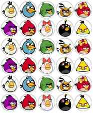 Angry Birds Cupcake Toppers Edible Paper BUY 2 GET 3RD FREE