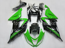 Black /Green Bodywork Fairing Kit For Kawasaki Ninja ZX-6R 13-14 ZX636 2013-2014