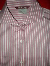 Ladies Blouse Shirt Top 12 Cotton Button Down Front Mauve EOC Just from Cleaner
