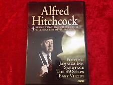 Alfred Hitchcock: 4 Spine Tingling Films From the Master of Suspence DVD