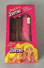 VINTAGE 80s# MATTEL BEAUTY SECRETS BARBIE TOOTH BRUSH TOOTHBRUSH SPAZZOLINO#NIB