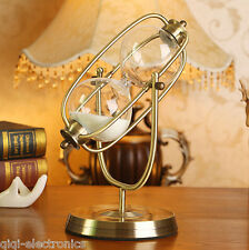 Rolating Sand Hourglass Sandglass Sand Timer 30 minute Clock home Decor Ornament