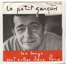 SP Serge Reggiani Les loups sont entrés dans Paris Le petit garçon 1968 EXC+