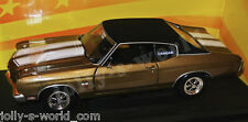 ERTL/32994 1970 CHEVY CHEVELLE 454 CRAGER - gold/vinyl top - 1:18 lim. Hobby Ed.