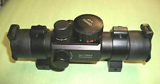 NEW CENTER POINT 72602 SCOPE SIGHT 30 mm TUBE, MULTI RETICLE RED GREEN DOT