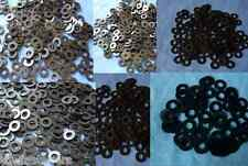 120 Mixed Black Plastic Nylon Washer Spacers M3 M4 M5 M6 M8 M10 Metric Washers