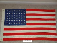 3' X 5'  U.S./US AMERICAN 48 STAR FLAG COTTON EMBROIDERED 3X5