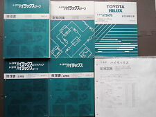 JDM TOYOTA HILUX SURF / PICKUP TRUCK N80/100/130 Service Shop Repair Manuals