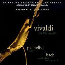 Vivaldi: Four Seasons; Pachelbel: Canon; Bach: Brandenburg Concerto No. 3 NEW CD
