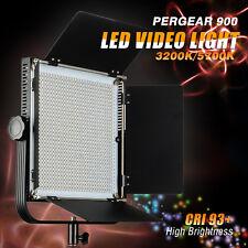 Pergear Pro 900 CRI 93+ 3200K/5700K Dimmable Panel LED Studio Video Light