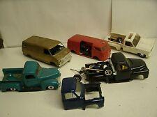 Junkyard Lot 1:24/1:25 Model Kit Parts/Pieces Trucks Vans (A5)
