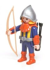 Playmobil Figure Castle Treasure Transport Knight Archer Helmet Bow Arrows 3314