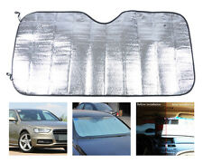 Auto Sun Shield Visor Shade Foldable Rear/Front Windshield Heat Reflective Cover
